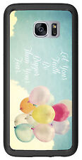 Let Your Faith Be Bigger Than Your Fear For Samsung Galaxy S7 G930 Case Cover by