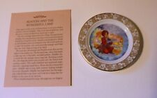 Fairy Tales Aladdin Lamp Myth Legend Fantasy Woods Story Plate Collector Plate