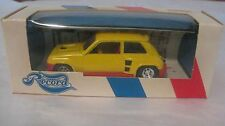 Record Renault 5 Turbo Calberson In A Yellow 1:43 Scale Diecast By Solido dc1306