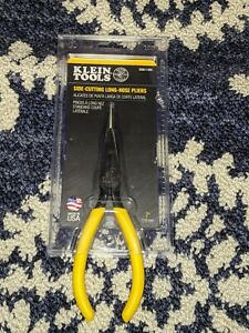 """Klein Tools (D203-7-SEN) 7"""" Side-Cutting Long-Nose Pliers - Made In USA - New!!!"""