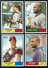 Complete Your 2005 2006 2007 2008 2009 2010 2011 Topps Heritage Sets U Pick 40