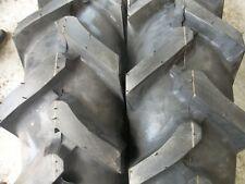 TWO 750x16, 750-16 Terramite Backhoe DEERE KUBOTA 8 ply R1 Bar Lug Tractor Tires
