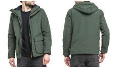 Abrigos y chaquetas de hombre parkas verde talla L