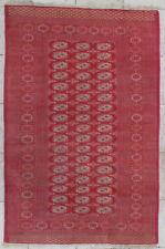 tapis laine fait main rouge gris orangé Boccara