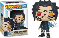 Sasuke with Curse Mark Naruto FUNKO Pop Vinyl NEW in Mint Box + Protector