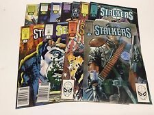 STALKERS  #1-11 (MARVEL/EPIC/1989 MARK TEXEIRA/05151) COMPLETE SET LOT OF 11