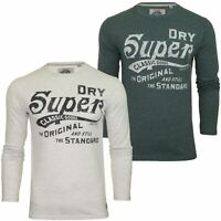 Superdry Mens T-Shirt 'Classic Standard L/S Tee' - Long Sleeved