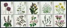2009 GB ACTION FOR SPECIES: PLANTS BLOCK OF 10 FINE MINT MNH SG2931-SG2940
