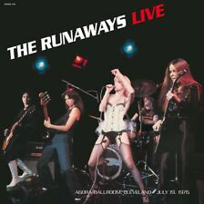 The Runaways - Live in 1976 - NEW SEALED import 180g LP