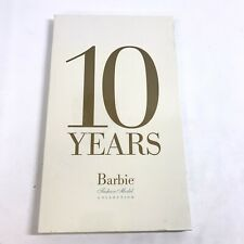 10 YEARS BARBIE FASHION MODEL COLLECTION BOOK ~ MINT CONDITION & SEALED ~ N04-3