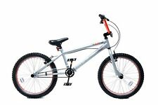 "XN-2 Kids 20"" Wheel 25/9T Gearing Freestyle BMX Bike Cycle Stunt Pegs Silver"