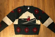 Vintage Woolrich Men's Size XL Sweater Alaskan Rowing Fishing Canoeing