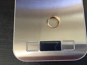 10 Karat Diamanten Ring Mit Ab 1 Euro 417er Gold Massiv Mit 2 Gramm