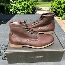 Frye Tyler Lace-Up Leather Boots - MSRP $288 - Multiple Sizes