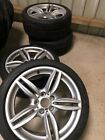 BMW 3 4 SERIES 19 INCH M-SPORT ALLOY WHEELS WITH Dunlop TYRES 7842653