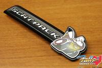 2015-2019 Dodge Charger Scat Pack Front Grille Clip On Emblem Nameplate Mopar