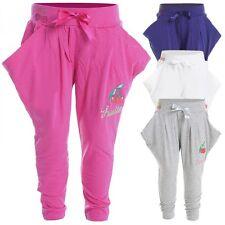 Mädchen-Hosen im Haremshose aus Baumwollmischung
