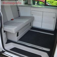 Premium Velour Fußmatten Auslage für VW T5 California mit Küche ab Bj.2003 -
