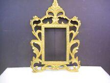 "Vintage Brass Picture Frame 6"" x 4"""