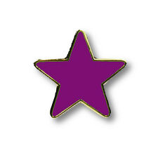 Reflective Star Motivational Badges Blue, Yellow, Red, Green, Orange and Purple.
