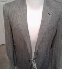 $825 NEW Jack Spade  silk /WOOL harringbone Blazer Size 42R  made in the  USA