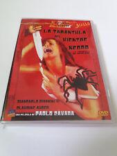 "DVD ""LA TARANTULA DEL VIENTRE NEGRO"" COMO NUEVO PAOLO CAVARA COLECCION GIALLO"