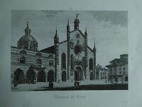 1845 Zuccagni-Orlandini Veduta del Duomo di Como