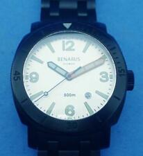 BENARUS LIMITED EDITION MORAY 44 DLC COATED 1ST GENERATION DIVERS WATCH FULL KIT
