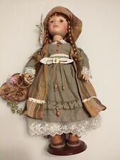 Adele's Puppenhaus Bambola In Porcellana Da Collezione