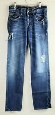 Monarchy Mens 28 x 34 Factory Distressed Jeans