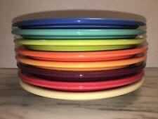 Fiestaware Mixed Multi Colored Bread Plate Fiesta  Snack 6in Rainbow (8)