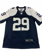 Dallas Cowboys DeMarco Murray 29 Nike NFL On Field Jersey White Blue V Neck S