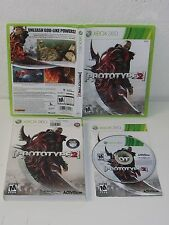 PROTOTYPE 2 - XBOX 360 Game - CASE, GAME & INSTRUCTIONS - Activision RATED M