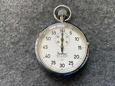 Hanhart Lever 7 Jewels 1/5 sec. Mechanical Wind Up Vintage Stopwatch