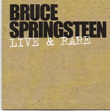 Bruce Springsteen-Live&Rare promo cd maxi single cardsleeve