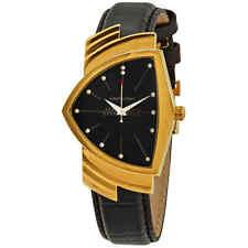 Hamilton Ventura Black Dial Shield Shaped Ladies Watch H24301731