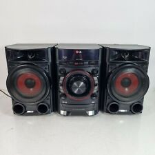 LG CM4330 Micro Bookshelf Stereo System, Record to usb, CD Player and Radio