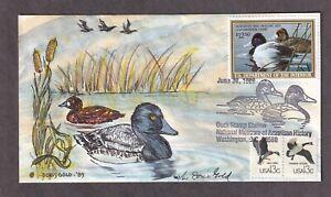 $12.50 Lesser Scaup Migratory Duck, HP Doris Gold, RW56
