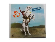 Tex RitterSingin' In the Saddle - LP -  Picture Disc