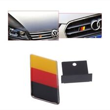 1pc German Flag Front Grille Sticker Emblem Badge For Volkswagen Golf Polo Audi