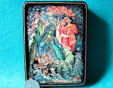 Russian GICLEE LACQUER Box Fairy tale Stone Flower Mistress of Copper Mountain