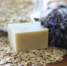 Lavender Oatmeal w/Goat Milk- Handmade Natural Soap Bar