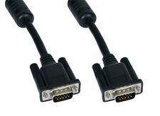 GP1701 SVGA maschio-maschio 15 pin completamente cablato Nero Monitor