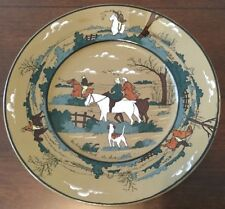 Fox Hunt Hunting Buffalo Pottery Dinner Plate Fallowfield Hunt The Start