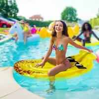 Inflatable Pool Floats Swimming Floaty Ride-On Giant Outdoor Summer Beach Water