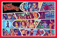 The Warriors Comic Strip Art Print (Available In 4 Formats)