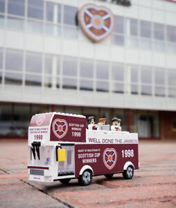Limited Edition Heart Of Midlothian 1998 Parade Brick Bus