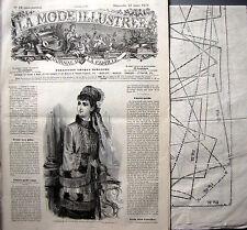 LA MODE ILLUSTREE PATRON FRENCH PATTERN n° 44//1905 Voir modèles à réaliser