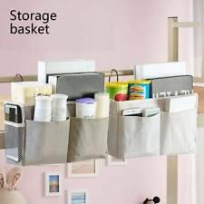 Bed Bedside Storage Organiser Holder Tidy Hook Pocket Shelf Bunks Cabin Chair