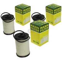3x Original MANN-FILTER Kraftstofffilter BFU 700 x Fuel Filter